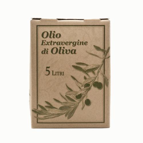 Olio Extravergine Toscano 5L bag in box